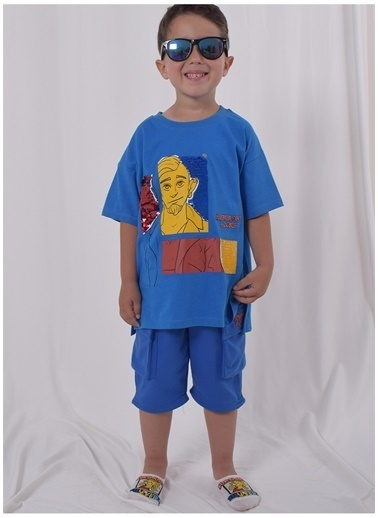 iandb Tişört Mavi